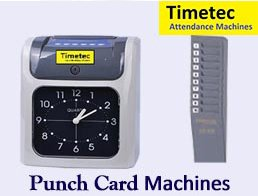 Timetec punch card machine will be a definite value addition for any organisation who uses the old fashion of book signing manual attendance registry system.