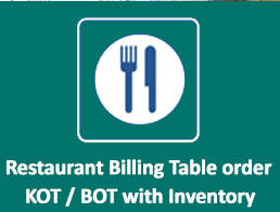 Use of IM Restaurant Management system enables you to monitor the functionality and gives you a Birds Eye View on the operation.